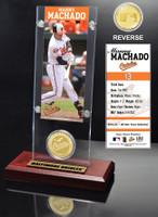 Manny Machado Ticket & Bronze Coin Desk Top Acrylic