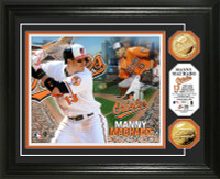 Manny Machado Gold Coin Photo Mint