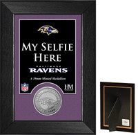 Baltimore Ravens Selfie Minted Coin Mini Mint