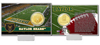 Baylor University Bronze Coin Card