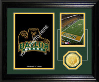 Baylor University Fan Memories Bronze Coin Desktop Photo Mint