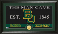 Baylor University Man Cave Bronze Coin Panoramic Photo Mint