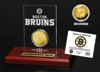 Boston Bruins  Etched Acrylic Desktop