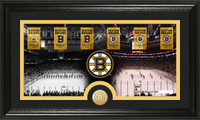 Boston Bruins Tradition Minted Coin Pano Photo Mint
