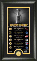 Boston Bruins Legacy Supreme Bronze Coin Panoramic Photo Mint