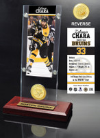 Zdeno Chara Ticket & Bronze Coin Acrylic Desk Top