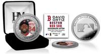 David Ortiz Silver Color Coin