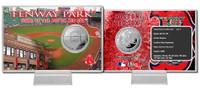 Fenway Park Silver Coin Card
