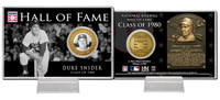 Duke Snider Class of 1983 Hall of Fame Bronze Coin Card