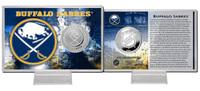 Buffalo Sabres Silver Coin Card