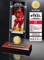 Jordan Staal Ticket and Bronze Coin Desktop Acrylic