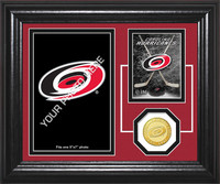 Carolina Hurricanes Fan Memories Bronze Coin Desktop Photo Mint