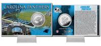 Carolina Panthers Silver Coin Card