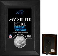 Carolina Panthers Selfie Minted Coin Mini Mint