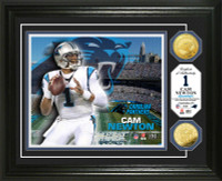 Cam Newton Gold Coin Photo Mint