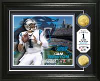 Cam Newton Gold Coin Photo Mint