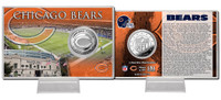 Chicago Bears Silver Coin Card