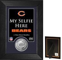 Chicago Bears Selfie Minted Coin Mini Mint