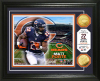 Matt Forte Gold Coin Photo Mint