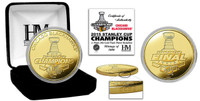 *Chicago Blackhawks 2015 Stanley Cup Champions Gold Mint Coin