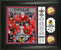 2013 Stanley Cup Champions Banner Gold Coin Photo Mint
