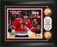 *Chicago Blackhawks 2015 Stanley Cup Champions Conn Smythe Gold Coin Photo Mint