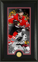 Jonathan Toews Supreme Bronze Coin Panoramic Photo Mint