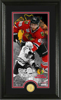 Patrick Kane Supreme Bronze Coin Panoramic Photo Mint