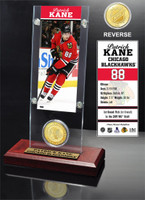 Patrick Kane Ticket and Bronze Coin Desktop Acrylic