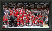 *Chicago Blackhawks 2015 Stanley Cup Champions Signature Rink