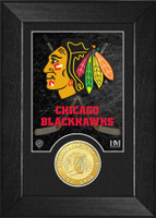 Chicago Blackhawks Bronze Coin Mini Mint