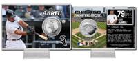 Jose Abreu Silver Coin Card