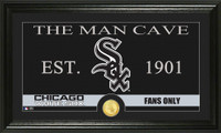 Chicago White Sox The Man Cave Bronze Coin Panoramic Photo Mint