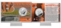 Cincinnati Bengals Silver Coin Card