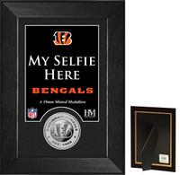 Cincinnati Bengals Selfie Minted Coin Mini Mint