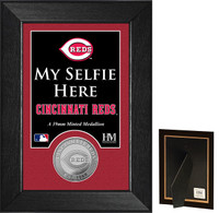 Cincinnati Reds Selfie Minted Coin Mini Mint
