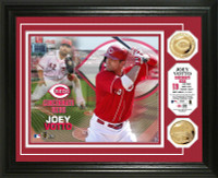 Joey Votto Gold Coin Photo Mint