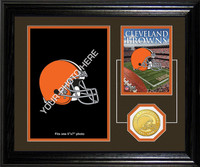Cleveland Browns Framed Memories Desktop Photo Mint