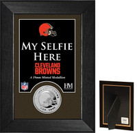 Cleveland Browns Selfie Minted Coin Mini Mint
