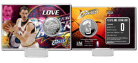 Kevin Love Silver Coin Card
