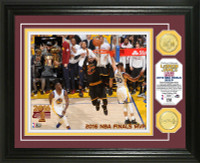 Cleveland Cavaliers 2016 NBA Champions MVP LeBron James Gold Coin Photo Mint LE