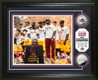 Cleveland Cavaliers 2015 Eastern Conference Champions Celebration Silver Coin Photo Mint