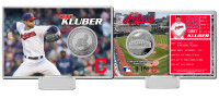 Corey Kluber Silver Coin Card