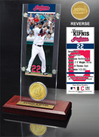 Jason Kipnis Ticket & Minted Coin Acrylic Desk Top