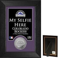 Colorado Rockies Selfie Minted Coin Mini Mint