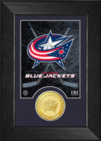Columbus Blue Jackets Bronze Coin Mini Mint