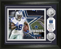 Dez Bryant Silver Coin Photo Mint
