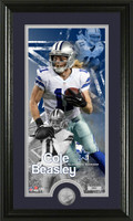 Cole Beasley Supreme Minted Coin Panoramic Photo Mint