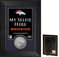Denver Broncos Selfie Minted Coin Mini Mint