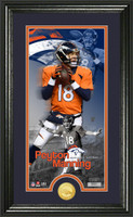 Peyton Manning Supreme Bronze Coin Panoramic Photo Mint